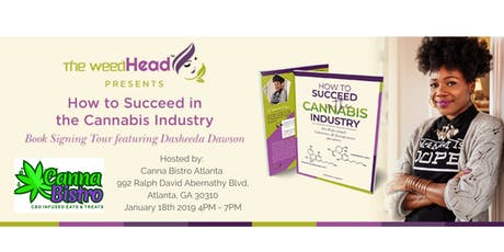 Sharing Success in Cannabis Book Tour tickets