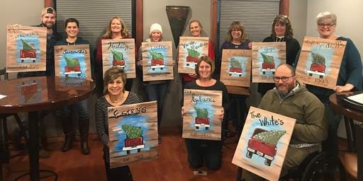 Beer  & Brush Paint Night at Carriage Court