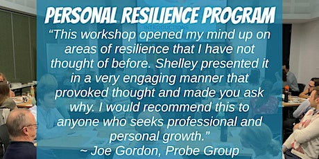 Personal Resilience Training tickets