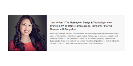 The Marriage of Design & Technology: How Branding, UX and Development Work tickets