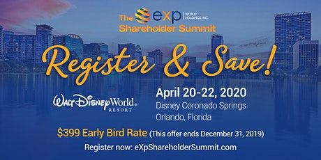 The eXp Shareholder Summit 2020 tickets