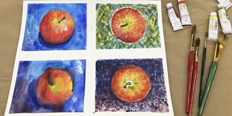 Sip and Paint Watercolor Event @ KB Studio tickets