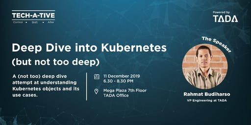TECH-A-TIVE - Deep Dive Into Kubernetes