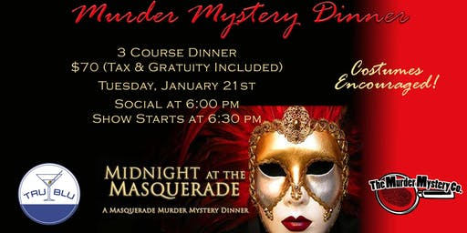 Murder Mystery Dinner - Tuesday
