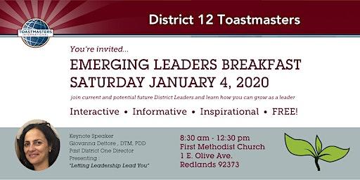 Emerging Leaders Breakfast