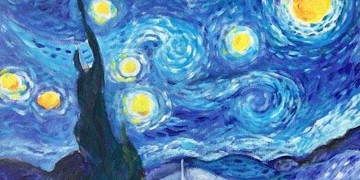 Van Gogh Starry Night - Kings Head Pub