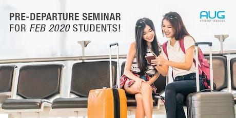 Pre-departure Seminar for Australia bound students! tickets