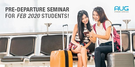 Pre-departure Seminar for Australia bound students! tickets