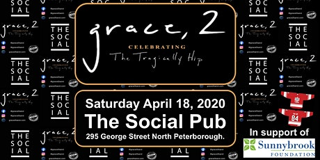 Grace, 2 - Celebrating The Tragically Hip Peterborough tickets