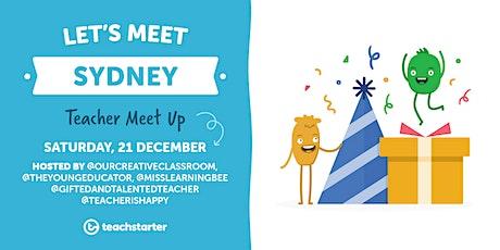 Sydney Teachers - Let's Meet! tickets