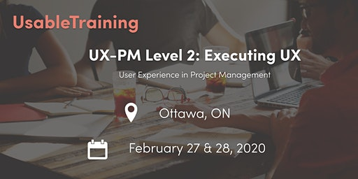 User Experience (UX) Certification: Level 2 - Executing UX