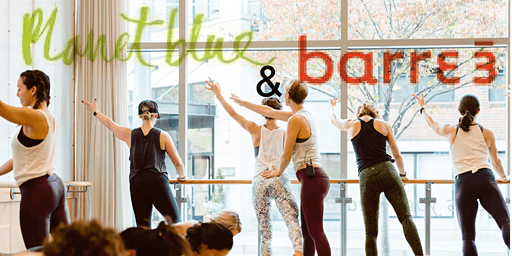 Barre3 and Planet Blue Community Class