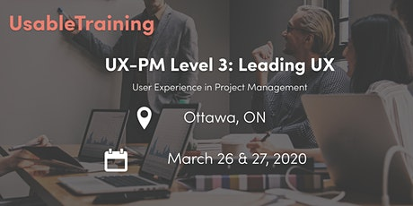 User Experience (UX) Certification: Level 3 - Leading UX tickets