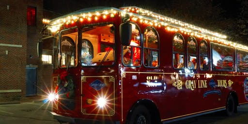 Holiday Lights and Sing-a-Long Trolley