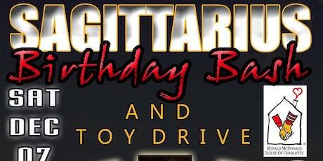 Sagittarius Birthday Bash & Toy Drive for the Ronald McDonald House tickets