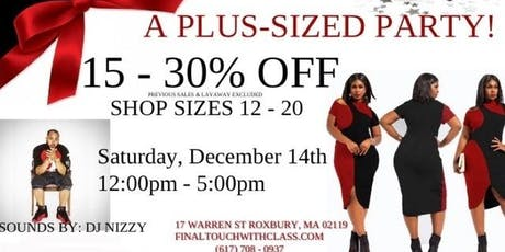 Plus Size Fashion Party tickets