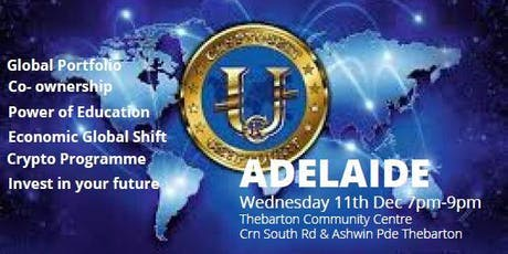 New Economic Evolution Of The World ADELAIDE tickets