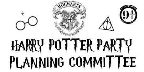 Harry Potter Party Planning Committe Meeting