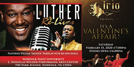It's A Valentine's Affair featuring Luther Re-lives Tour tickets