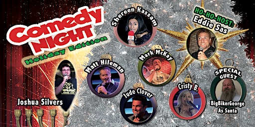 BLOODHOUND BREW COMEDY NIGHT - Holiday Edition