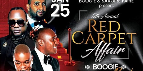 5TH ANNUAL RED CARPET AFFAIR WITH KLASS & DJAKOUT tickets