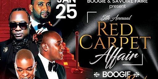 5TH ANNUAL RED CARPET AFFAIR WITH KLASS & DJAKOUT
