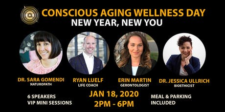 Conscious Aging Wellness Day 2020 tickets