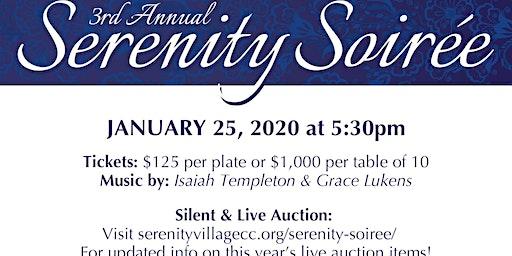 3rd Annual Serenity Soiree