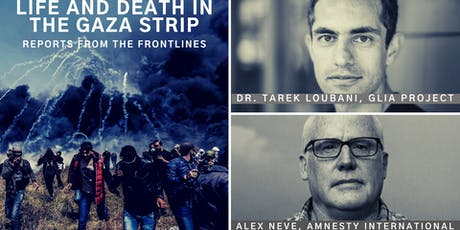 Life and Death in the Gaza Strip: Reports from the Frontlines tickets