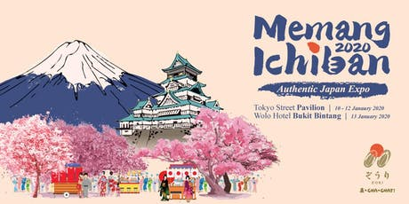 Memang Ichiban 2020: Authentic Japan Expo tickets