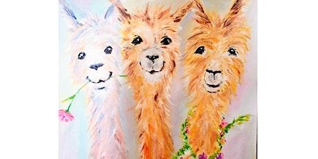 Happy Llamas - Clock Hotel tickets