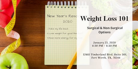 Weight Loss 101  -  Surgical & Non-Surgical Weight Loss tickets