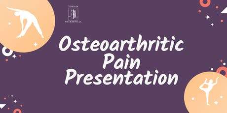 Osteoarthritic Pain Presentation tickets