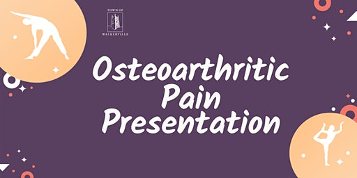 Osteoarthritic Pain Presentation