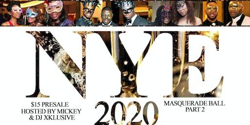 NYE 2020 Masquerade Ball