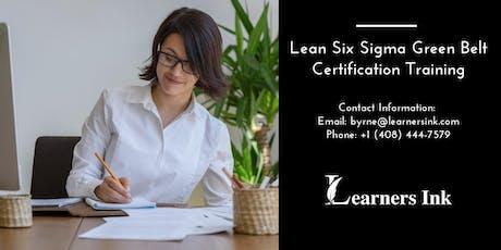 Lean Six Sigma Green Belt Certification Training Course (LSSGB) in Kingston tickets