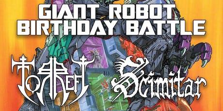 John & Noel's GIANT ROBOT BIRTHDAY BATTLE tickets
