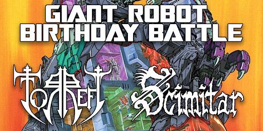 John & Noel's GIANT ROBOT BIRTHDAY BATTLE