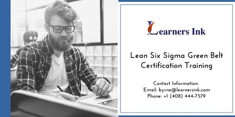 Lean Six Sigma Green Belt Certification Training Course (LSSGB) in Laurentian Hills tickets