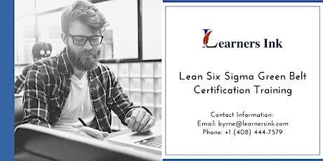 Lean Six Sigma Green Belt Certification Training Course (LSSGB) in Laurentian Hills tickets