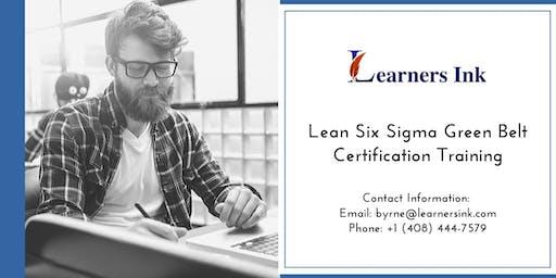 Lean Six Sigma Green Belt Certification Training Course (LSSGB) in Laurentian Hills