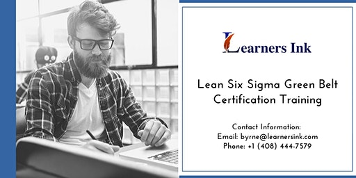 Lean Six Sigma Green Belt Certification Training Course (LSSGB) in Laurentian Hills