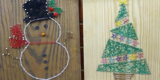 Holiday String Art