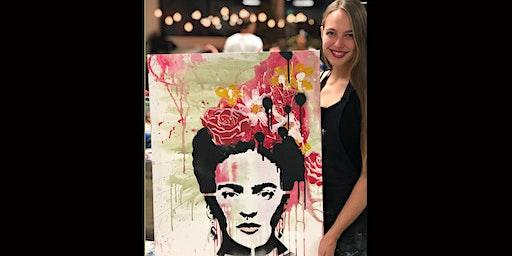 Frida Kahlo Paint and Sip Brisbane 17.1.20