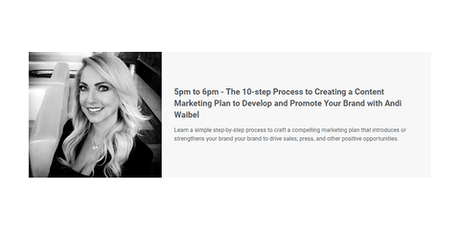 The 10-step Process to Creating a Content Marketing Plan to Grow Your Brand tickets