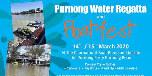 Floatfest activities at the Purnong Water Regatta