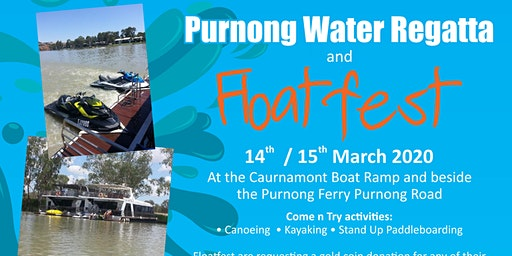 Floatfest activities at the Purnong Water Regatta
