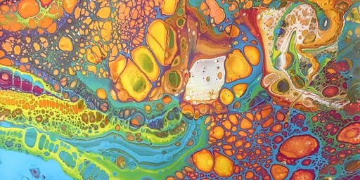 Copy of Acrylic Pouring Medium Paint and Sip Brisbane 30.1.20