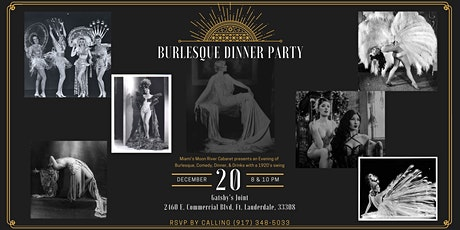 Burlesque Dinner Party Holiday Edition Double Feature tickets