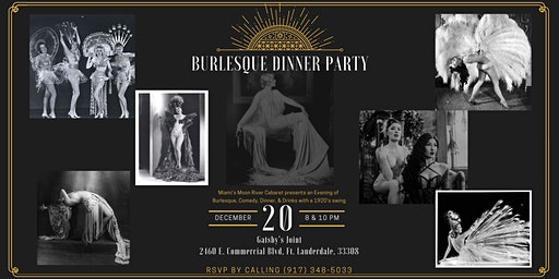 Burlesque Dinner Party Holiday Edition Double Feature